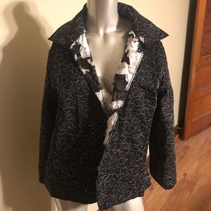 Reversible Black and White Jacket
